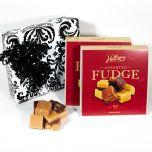 Black & White Velour Gift Box