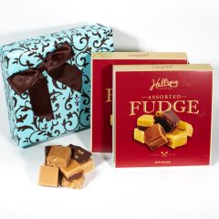 Chocolate on Aqua Gift Box