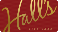 Hall's Candies Gift Card